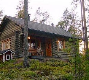 Syväjärvi Lakka Eräkämppä